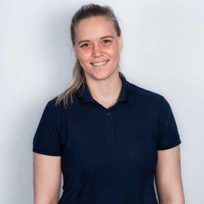 Fysioterapeut Veronica F. Abrahamsen