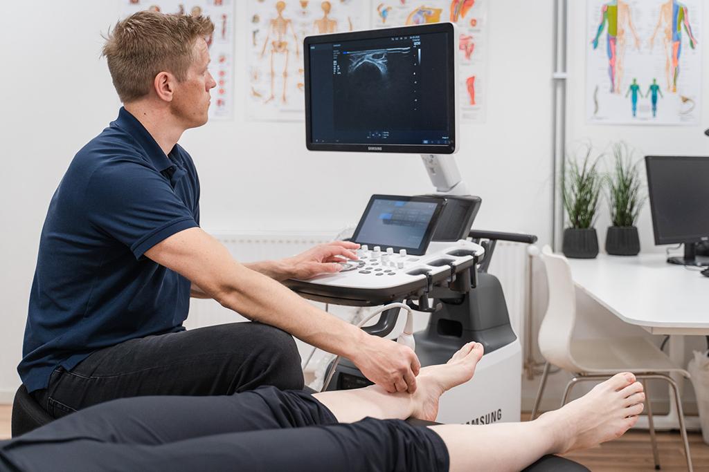 Diagnostisk ultralyd ved Øystein Nordgaard